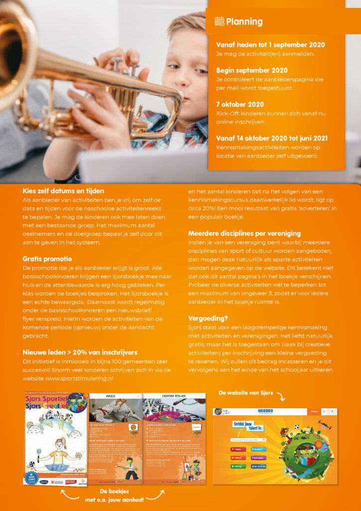 Aanbieders Enschede schooljaar 2020-2021